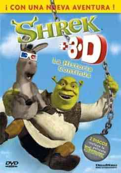 shrek 3d dvd latino